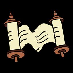 Kwanzaa scroll hand drawn color