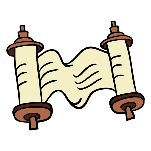 Kwanzaa scroll dibujado a mano color Transparent PNG