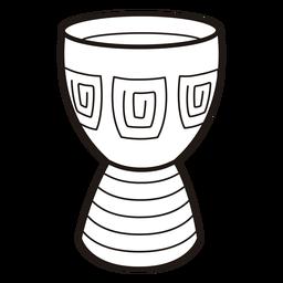 Kwanzaa Symbole Trommelschlag