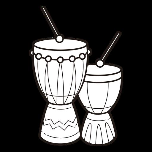 Símbolos de Kwanzaa golpe de batería