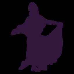 Personaje de vestido de mujer Kwanzaa