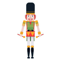 Nutcracker drummer color