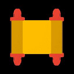 Desplazamiento con textura amarilla