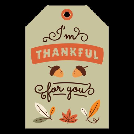 Thanksgiving card acorn