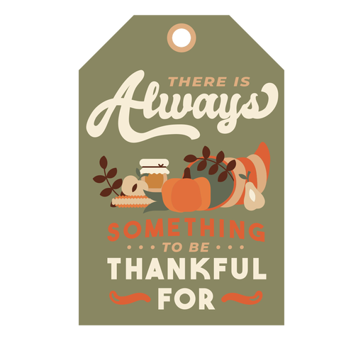 Thanksgiving card food