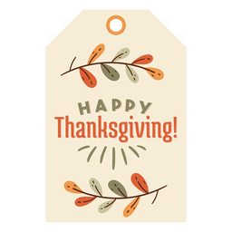 Thanksgiving card leaves