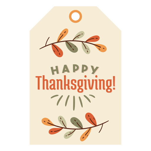 Thanksgiving card leaves Transparent PNG