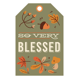Thanksgiving card lettering