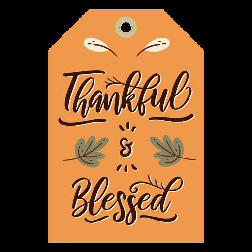 Thanksgiving card orange Transparent PNG