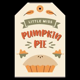 Thanksgiving-Karte Kuchen