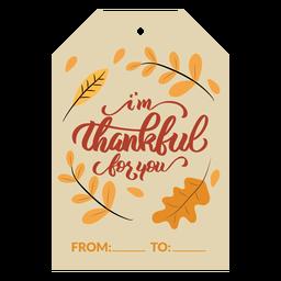 Hojas de tarjetas de acción de gracias