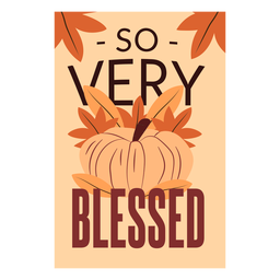 Thanksgiving cards so very blessed