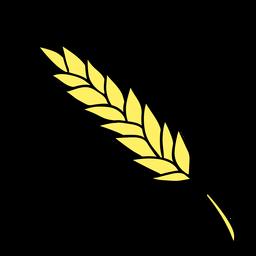 Color dibujado a mano de trigo