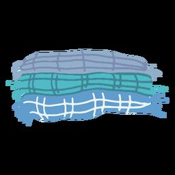 Winter blankets flat