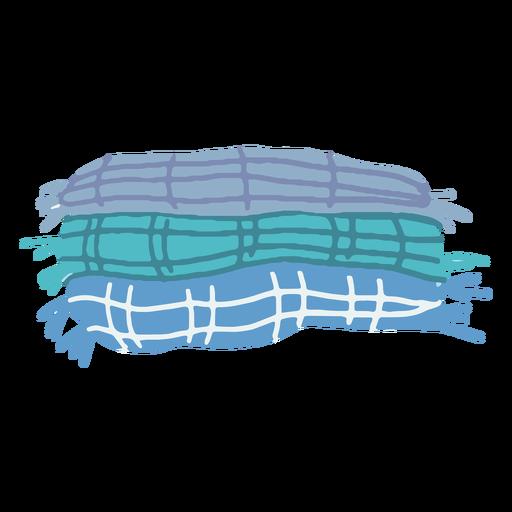 Winter blankets flat Transparent PNG