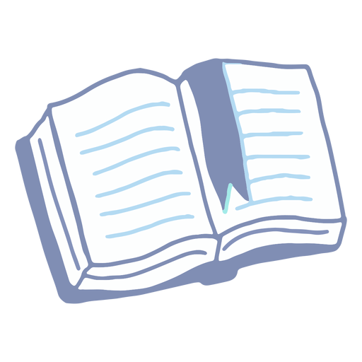 Winter book flat Transparent PNG