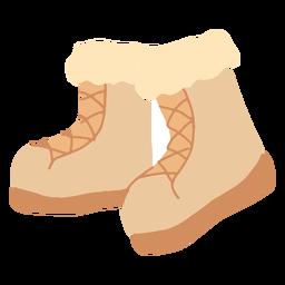 Botas de invierno planas