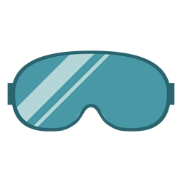 Winter goggles flat