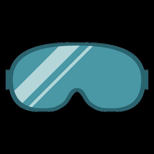 Gafas de invierno planas Transparent PNG