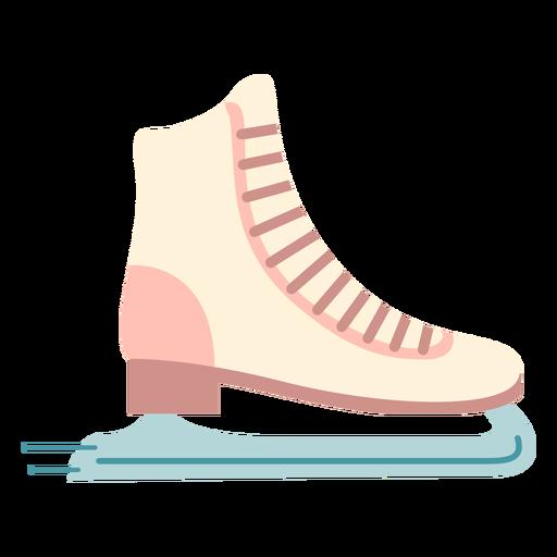Winter ice skates flat Transparent PNG