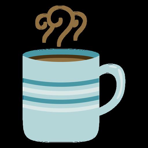Winter mug flat Transparent PNG