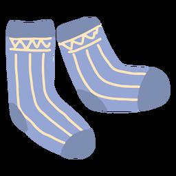 Calcetines de invierno planos