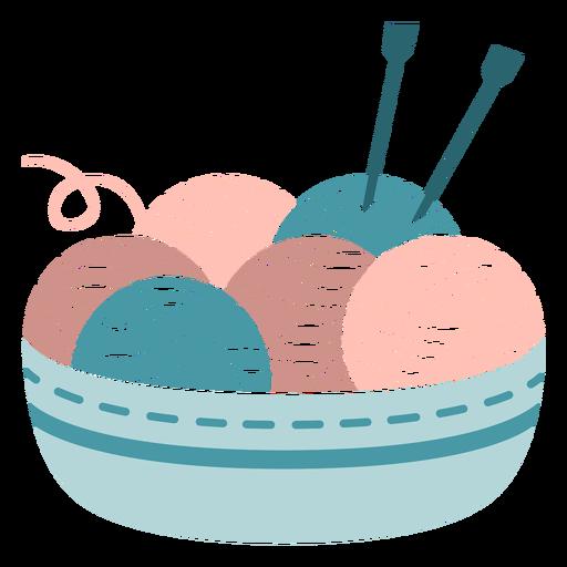 Winter threads knitting flat