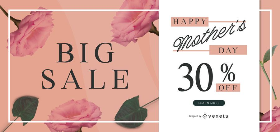 Mother's day sale slider template