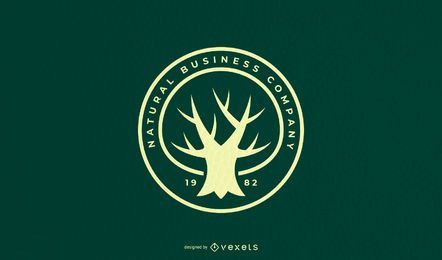 Tree Quote Logo Design