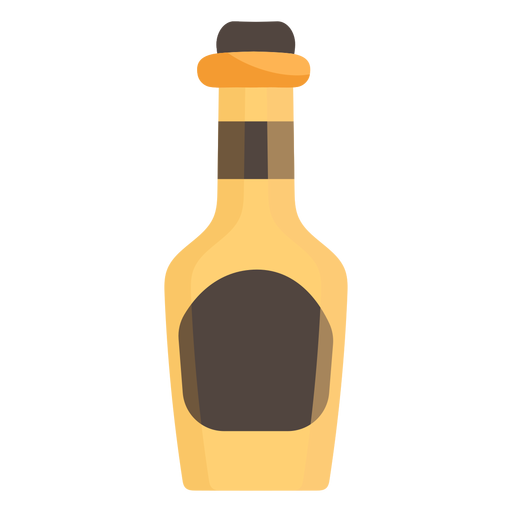Alcohol bottle icon Transparent PNG