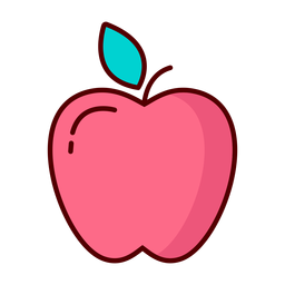 Apple fruit illustration