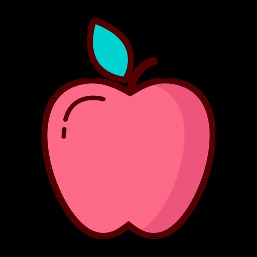 Ilustración de fruta de manzana