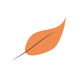 Brown leaf textured illustration