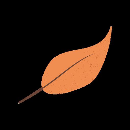 Brown leaf textured illustration Transparent PNG
