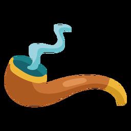 Cigar pipe illustration