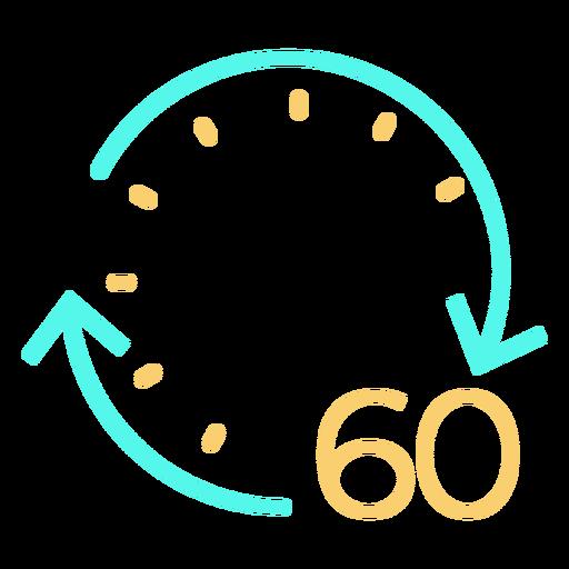 Clock time icon clock