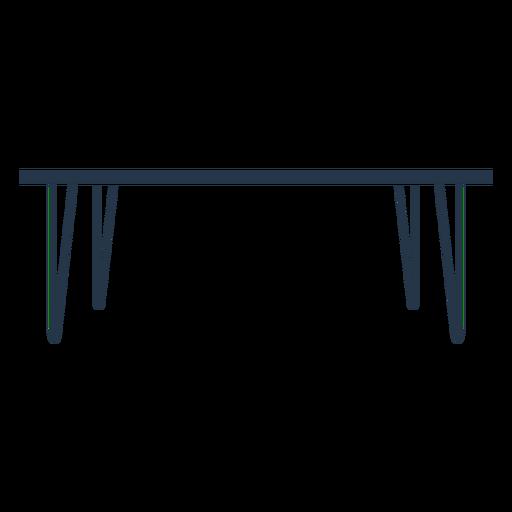 Dining table profile stencil
