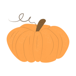 Hand drawn pumpkin pumpkin