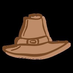 Pilgrim Hat Flat Transparent Png Svg Vector File