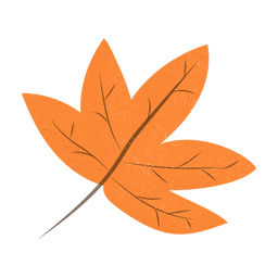 Maple leaf textured illustration