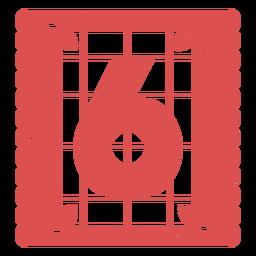 Papel Picado Nummer 6