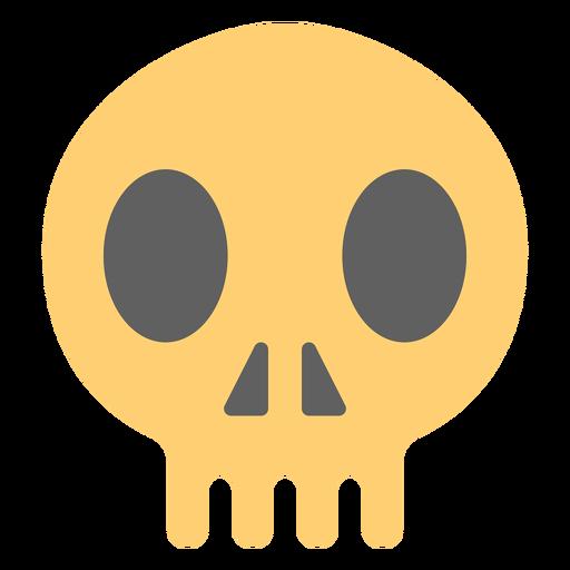 Pirate skull illustration Transparent PNG