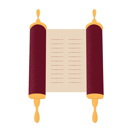 Ilustración de escritura de desplazamiento plana Transparent PNG