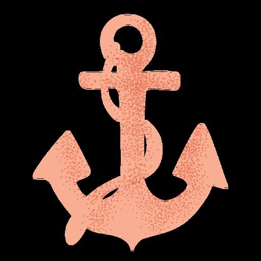 Ícone de estêncil de âncora de navio