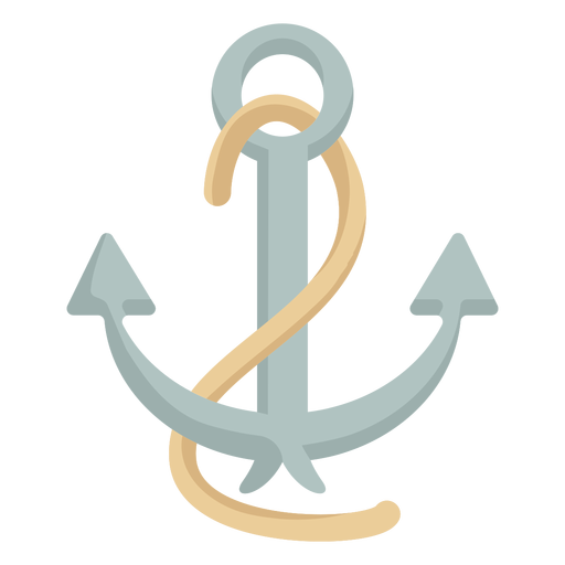 Ancla de cuerda para buque Transparent PNG