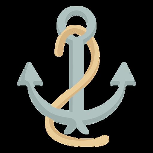 Ancla de cuerda para buque