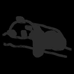 Dormindo panda