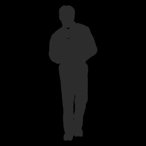 Standing priest clergy stencil priest