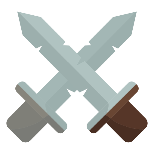 Two daggers crossed icon