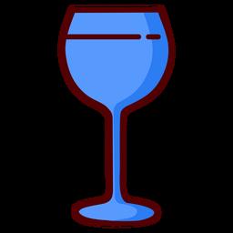 Ícone de ilustração de cálice de copo de vinho